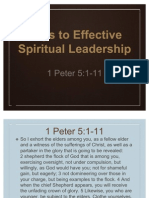 Keys to Effective Leadership 1-8-12