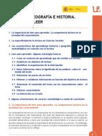 Aprender Geografía e Historia. Aprender a leer. José Ignacio Madalena Calvo