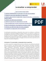 10 claves para enseñar a comprender (ESO). Eduardo Vidal Abarca