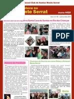 """Boletim """"Acontece no Monte Serrat"""" - 2º trimestre gestão 2011/2012"""