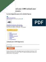 Epson Action Laser 1100 Action Laser 1100 Impresora