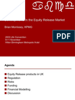 Developments Equity Release Market