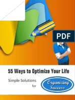 Free Professional Organizer Book