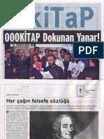 Ahmet Bozkurt, Her Çağın Felsefe Sözlüğü, Birgün kiTaP, 7 Ocak 2012, sayı 113