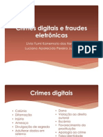 Crimes digitais e fraudes eletrônicas