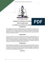 LEY DE PROBIDAD Y RESPONSABILIDAD DEL FUNCIONARIO Y EMPLEADO PÚBLICO