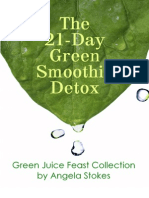 21 Day Detox Green Juice Feast Recipe Collection by Angela Stokes