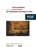 Le Systeme de Protection Des Droits de l'Homme