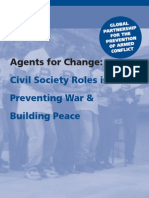 Agents for Change - Civil Society Roles in Preventing War & Building Peace - Catherine Barnes (GPPAC)