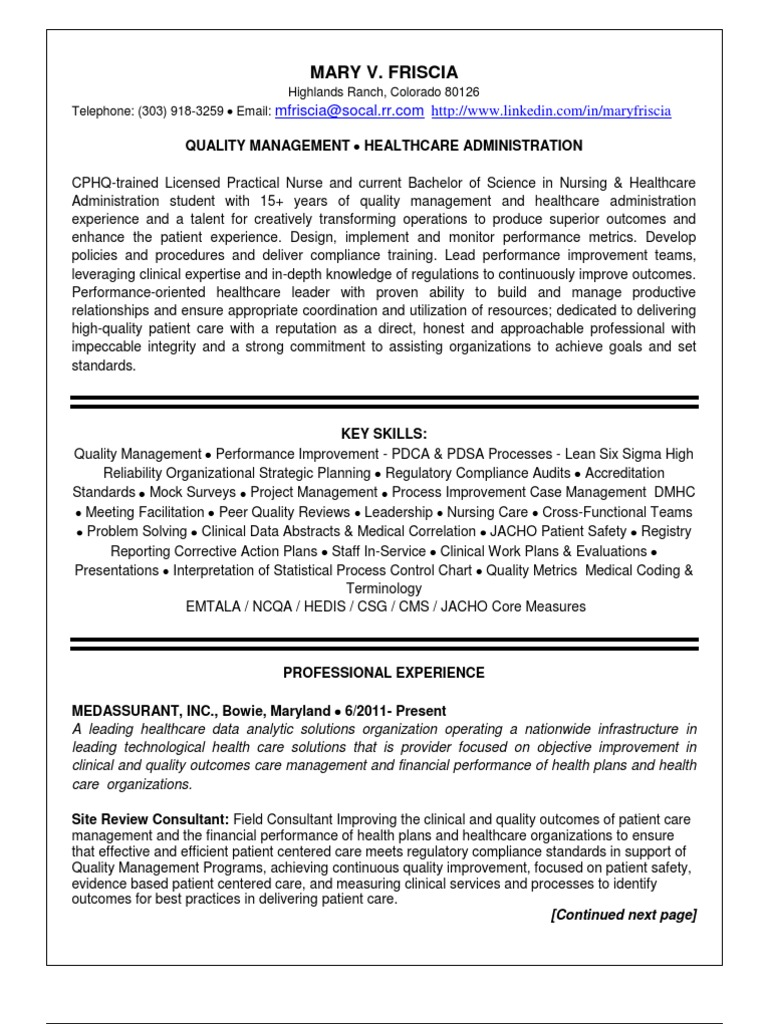 safety specialist resume
