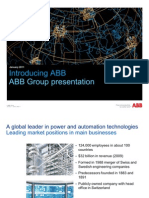 Abb Group Presentation_january 2011