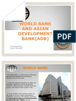 World Bank and Asian Development Bank(Adb) 1