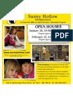 Jan 2011 Open House Flyer