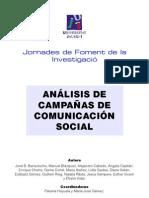analisis de campañas de comunicacion social