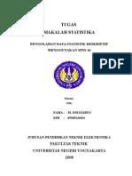 STATISTIK DESKRIPTIF MENGGUNAKAN SPSS 16
