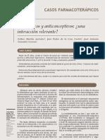 Antibióticos y Anticonceptivos