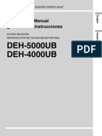 Deh-4000ub User Manual