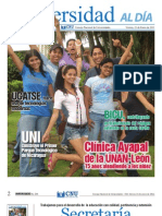Universidad al  Día - 32 - 21 de Enero de 2011