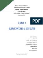 Actividad Grupal 4 (Integrales Iteradas)