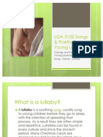 LGA 3102 Song Genre Lullaby