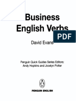 Business English Verbs - Penguin Books
