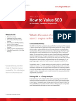 How to Value SEO 4-4-11 2
