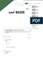 Exclusive SAP Basis Training Book _ Www.sapdocs