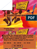 Gravity Clicker Questions 2