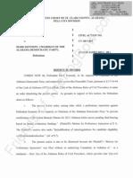 Alabama - Thompson v Kennedy - Motion to Dismiss - Primary Ballot Challenge - Obama
