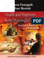 Health and Happiness From Meaningful Work (1606928201)