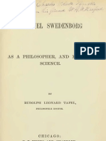 Rudolph Leonard Tafel EMANUEL SWEDENBORG as a PHILOSOPHER and MAN of SCIENCE Chicago 1867