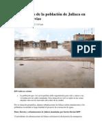 El vía crucis de la población de Juliaca en época de lluvias