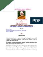 Mon Qua Cua Long Biet on - Ajahn Sumedho - Ly Thu Linh Dich