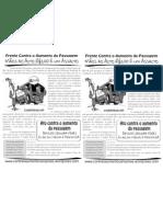 Contra o Aumento Em PDF