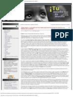 Aplicando La _estrategia Del Shock_ de Naomi Klein. _ ONG AFRICANDO SOLIDARI