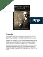 Relatividad Sin Formulas