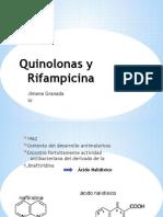 Quinolonas y Rifampicina