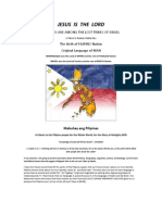 Filipinos Are Among the Lost Tribes of Israel