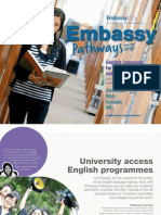 Embassy University Pathways (USA, OZ, UK, Canada)