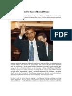 The Five Faces of Barack Obama