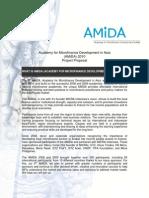 Proposal for Sponsorship AMiDA 2010
