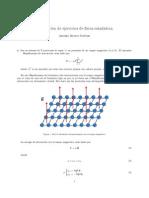 4ª Relación de ejercicios de física estadística