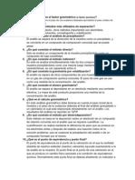 Estequiometria y Factores Gravimetricos