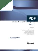 Microsoft Security Intelligence Report Volume 10 Key Findings Summary English