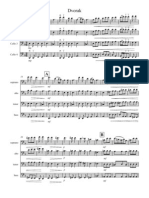 Dvorak Cello Quartet - Score and Parts