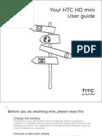 HTC HD Mini Manual
