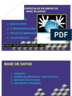Base Datos Carey