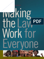 Making the Law Work for Everyone