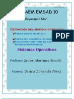 Sistemas Operativos, Áreas donde se aplica, Áreas del desarrollo humano, Evolucion y Historia de los S.O