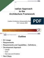 Architecture Framework Brief
